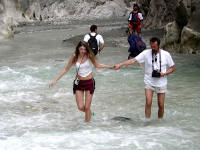 saklikent gorge is a beautiful place